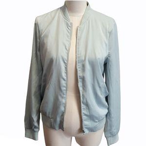Zara Trafaluc womens Aqua Jacket Size S New Tag
